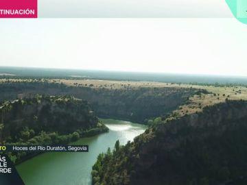 Las Hoces del Río Durantón en Segovia