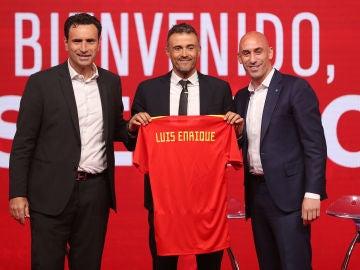 Presentación de Luis Enrique