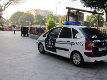 Coche de la Policía Local de Murcia
