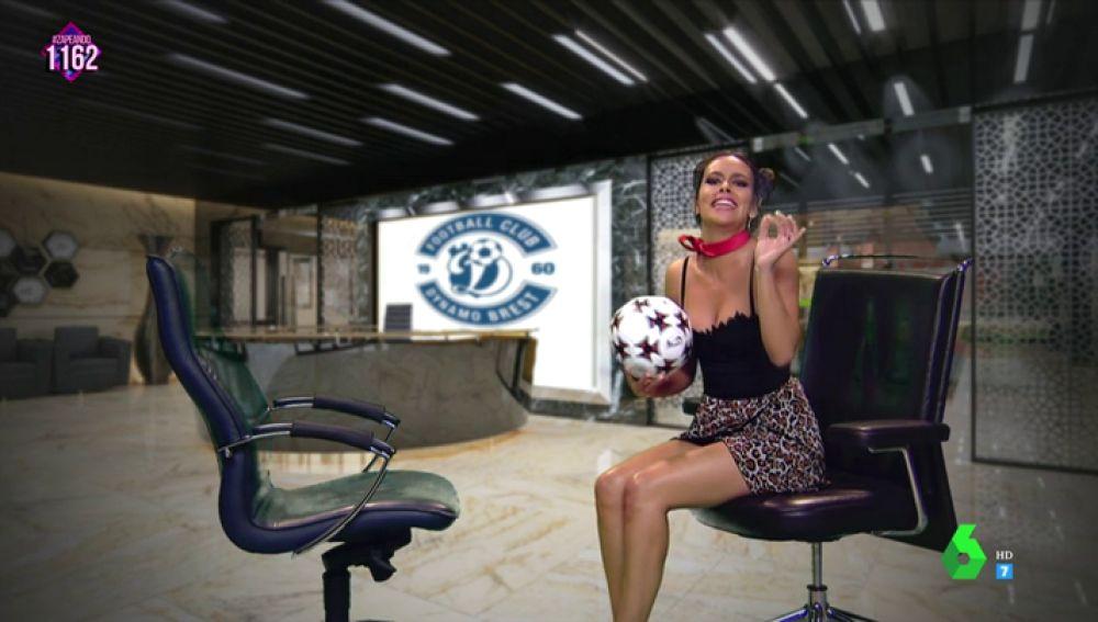 La imitación de Maradona de Cristina Pedroche