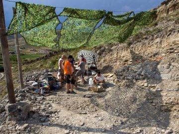Imagen de archivo de un yacimiento paleontológico