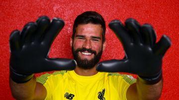 Alisson Becker, nuevo portero del Liverpool