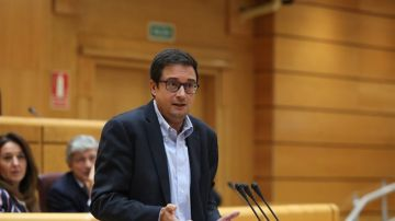 Óscar López, senador socialista por Castilla y León