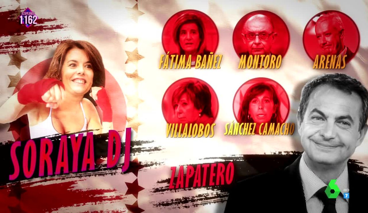 Soraya DJ en Zapeando