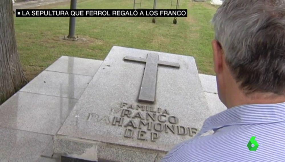 Sepultura de los Franco en Ferrol