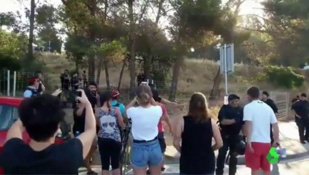 Protestas en Castelldefells