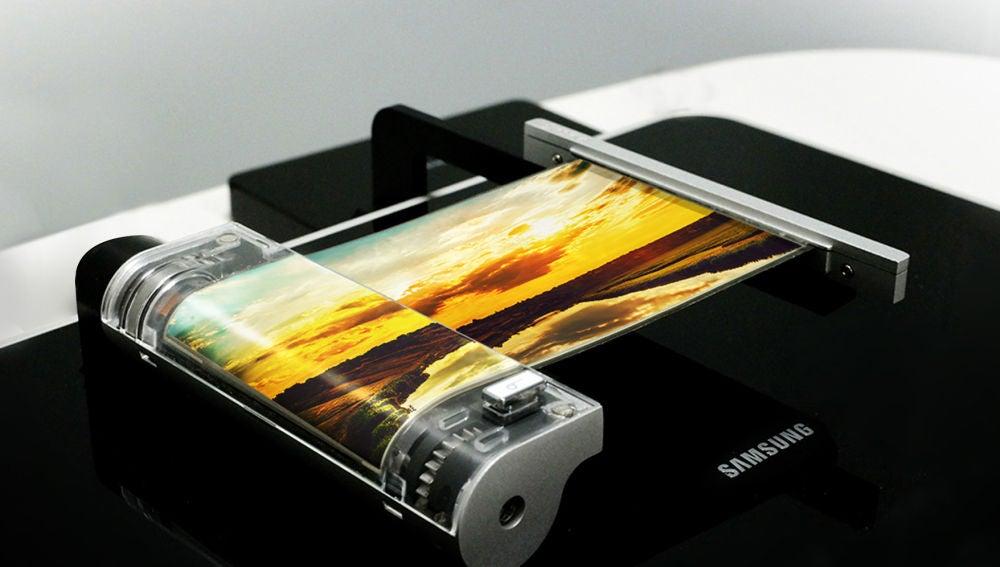 45c7f0f14ec Samsung podría presentar su primer teléfono plegable a principios de ...