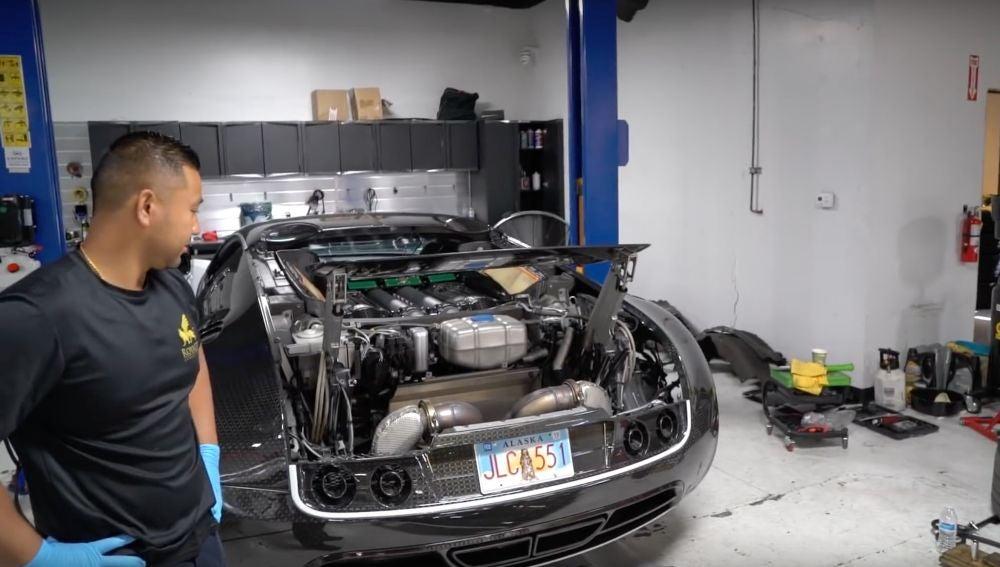 Mantenimiento de Bugatti Veyron