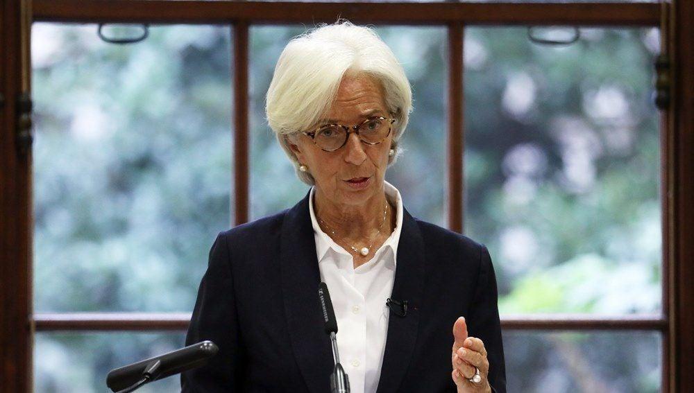 La directora del Fondo Monetario Internacional (FMI), Christine Lagarde
