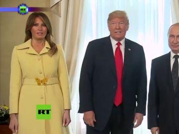 """Anna Simon se marca un Melania Trump: así es la cara """"dejadme en paz"""" de la zapeadora"""