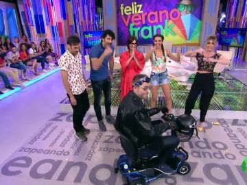 Frank Blanco se despide en moto en Zapeando