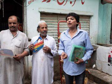 Kashish en la campaña electoral