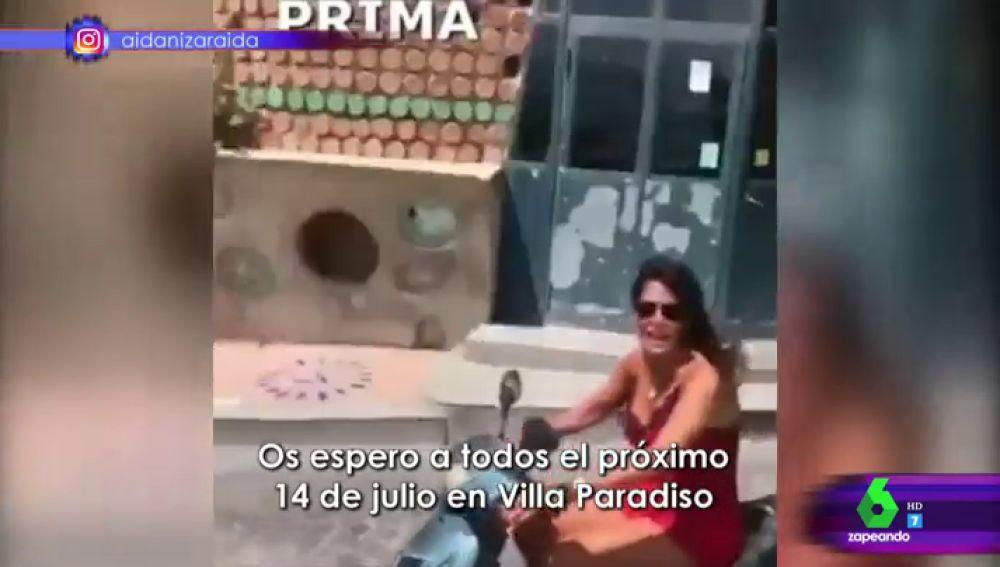 Vídeo de Aida Nizar en Zapeando