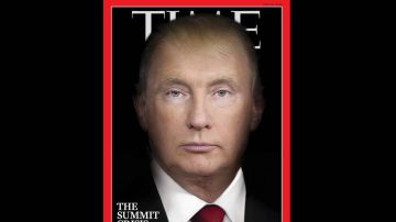 Portada TIME Trump-Putin