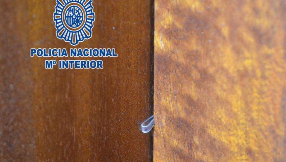 Plástico para marcar puertas