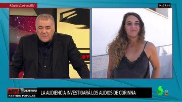 Noelia Vera, coportavoz del Consejo de Coordinación de Podemos