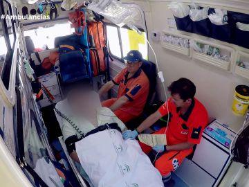 Ambulancias dolor pecho