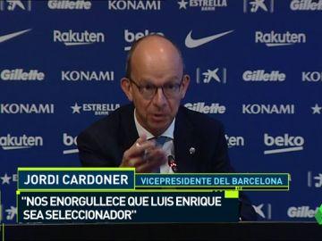 """El Barcelona saca pecho por Luis Enrique: """"Nos enorgullece que el seleccionador haya pasado por este club"""""""