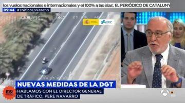 Pepe Navarro quiere hacer un 'modo coche' en el móvil similar al 'modo avión'