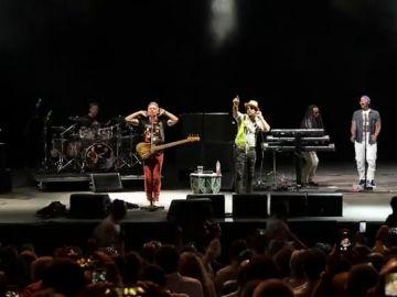Sting y Shaggy en el 'Starlite'