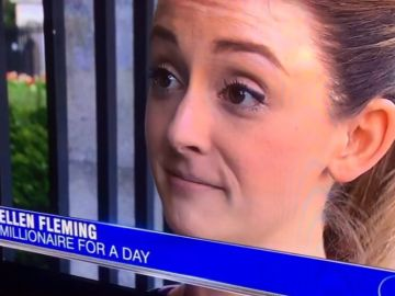 Ellen Fleming, la joven a la que el banco hizo millonaria durante unos minutos