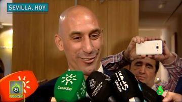 """Luis Rubiales: """"Con el único entrenador que he hablado es con Luis Enrique"""""""