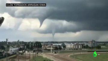 27 tornados en Iowa, Estados Unidos