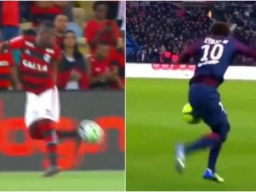 Las similitudes de Vinicius y Neymar