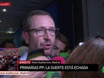 """Javier Maroto: """"Nuestro trabajo ha sido a pie de calle, hablando con el militante que vale la pena porque es la gente que siente las cosas y te cuenta su opinión"""""""