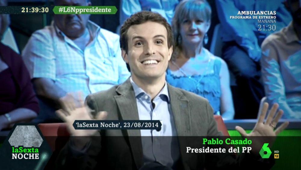 """Recopilamos las intervenciones más destacadas de Casado en laSexta Noche: """"El PP no pretende ser simpático, pretende arreglar la crisis"""""""