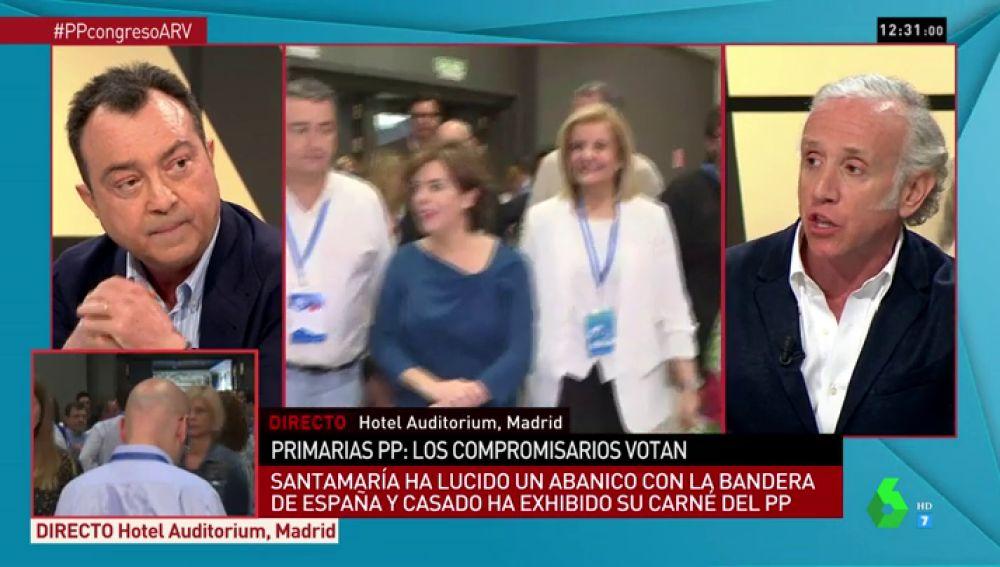 Manuel Cobo y Eduardo Inda