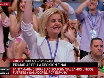 Fátima Báñez en el Congreso del PP