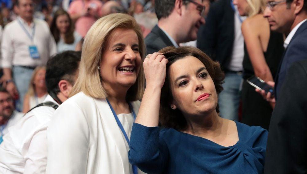 La exvicepresidenta del Gobierno, Soraya Sáenz de Santamaría