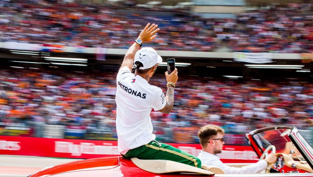 Hamilton ganador del GP de Alemania