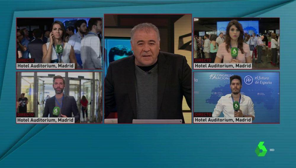 'Al Rojo Vivo, Objetivo PP', líder absoluto de su franja triplicando la audiencia de la televisión pública