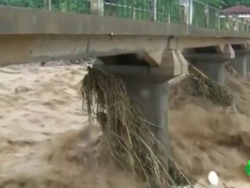 La tormenta Son Tinh deja 20 muertos y 16 desaparecidos en el norte de Vietnam