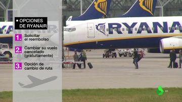 """La huelga de Ryanair deja ya 75.000 afectados: """"Van a tener que indemizarles con una cantidad entre los 250 y los 400 euros"""""""