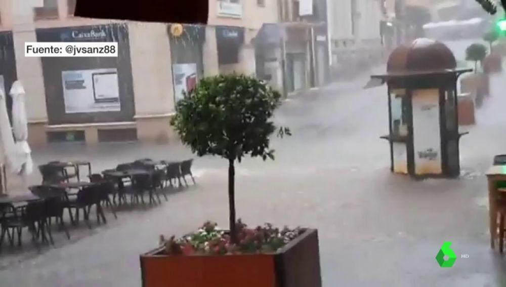 Aviso amarillo por lluvias y tormentas en Teruel