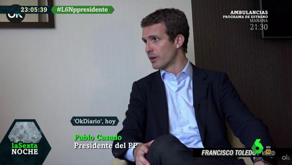 """Pablo Casado: """"No hay nada que negociar con independentistas. Siempre engañan"""""""