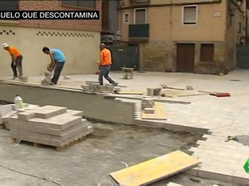 Suelo descontaminante en La Rioja