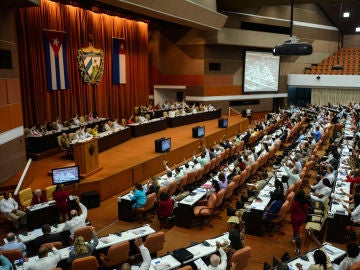 Vista general durante la plenaria del primer período ordinario de sesiones de la IX Legislatura de la Asamblea Nacional