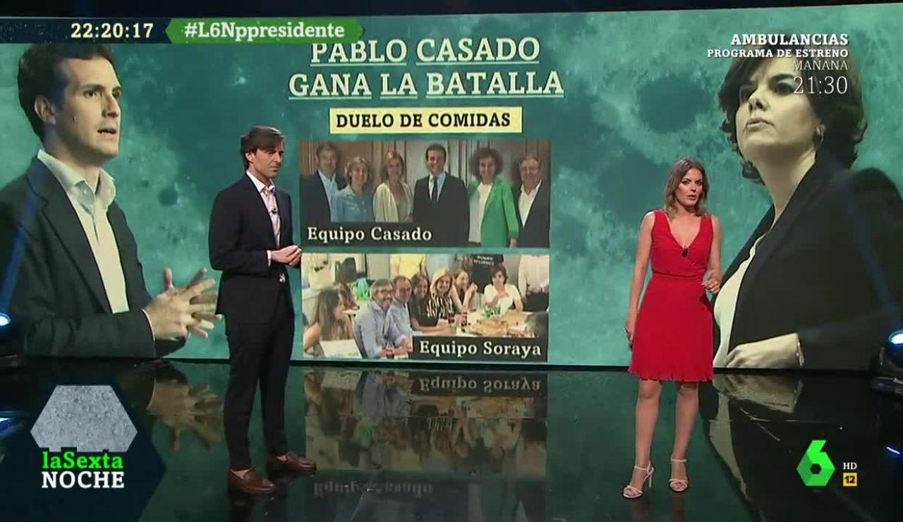 Pablo Montesinos y Andrea Ropero analizan la división del Pp