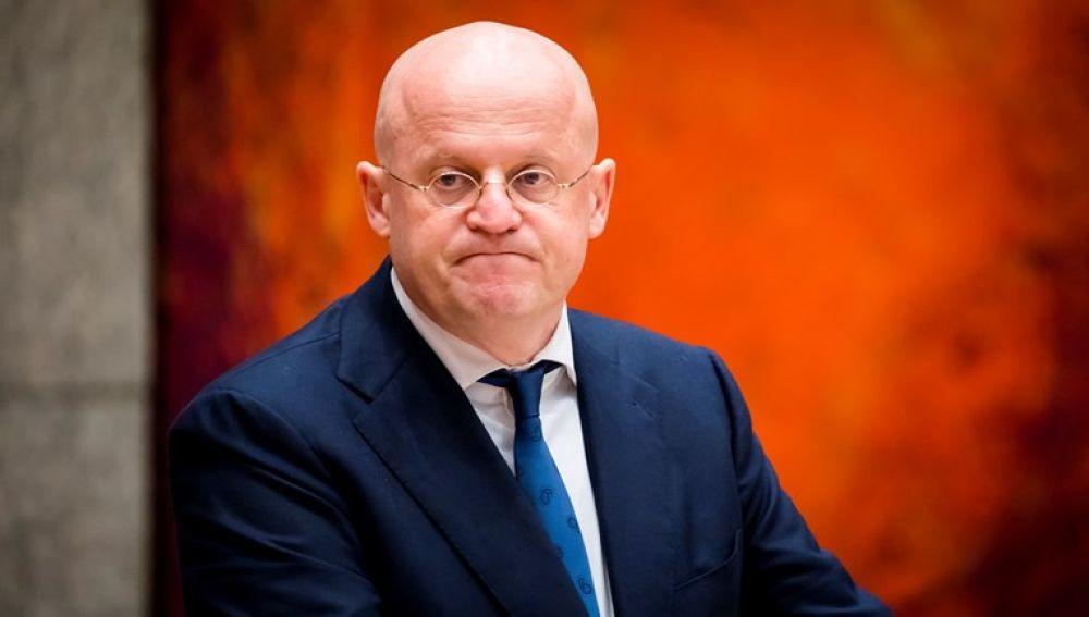 El ministro de Justicia y Seguridad de Holanda, Ferdinand Grapperhaus
