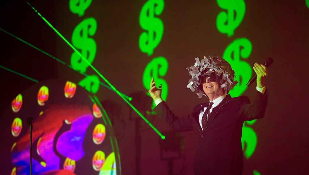 Imagen del concierto de Pet Shop Boys