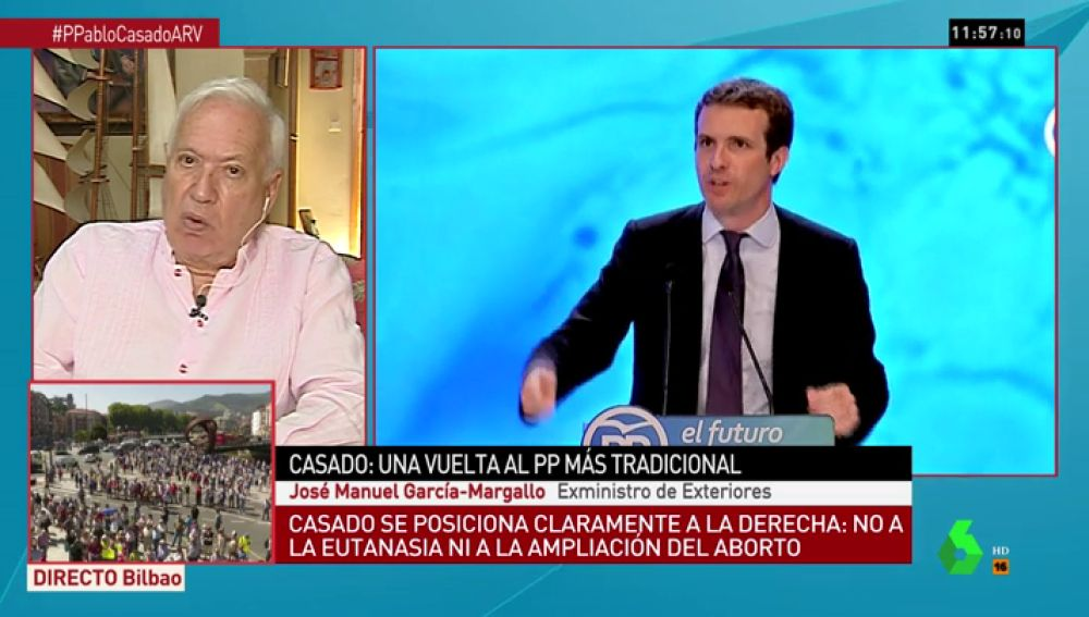 García-Margallo en Al Rojo Vivo