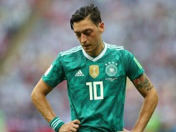 Mesut Özil con la selección alemana