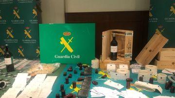 Imagen de la falsificación de vinos de alta gama