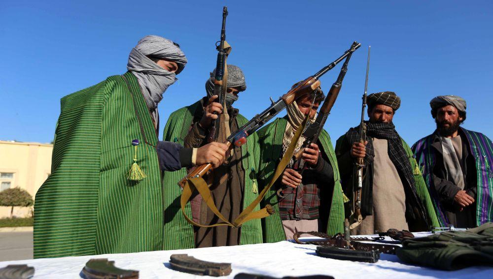 Rendición de yihadistas en Afganistán