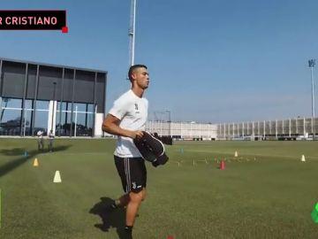 Cristiano Ronaldo ya asombra a sus compañeros