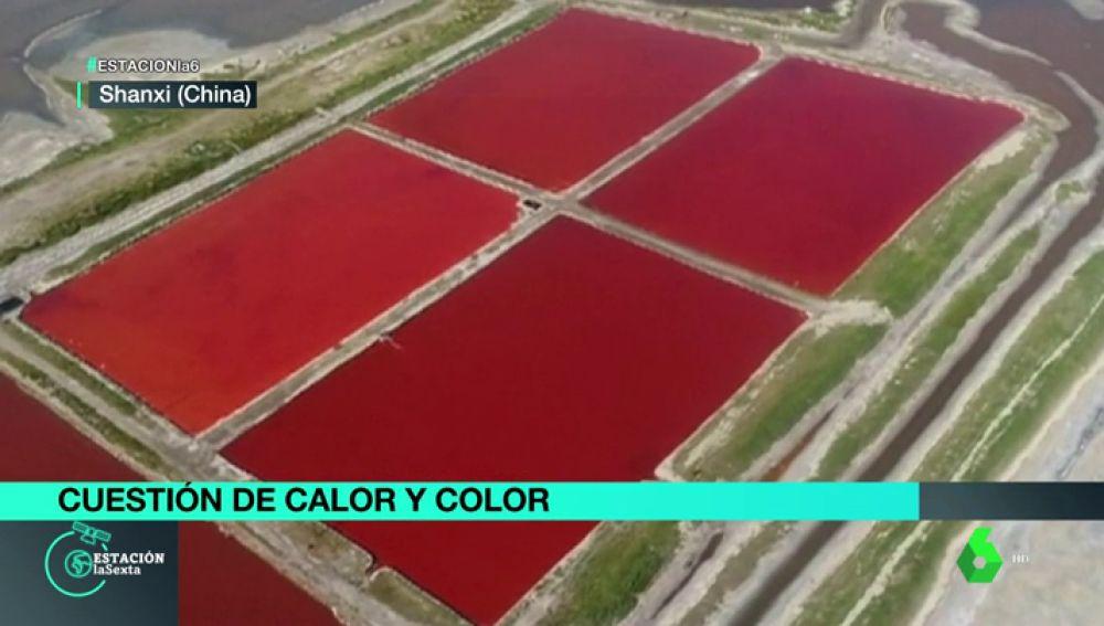 Lajos rojos en China.